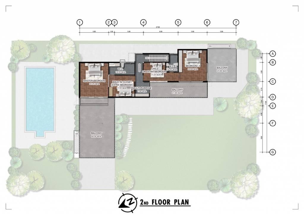 Chiang Mai Luxury Villas Floor Plan