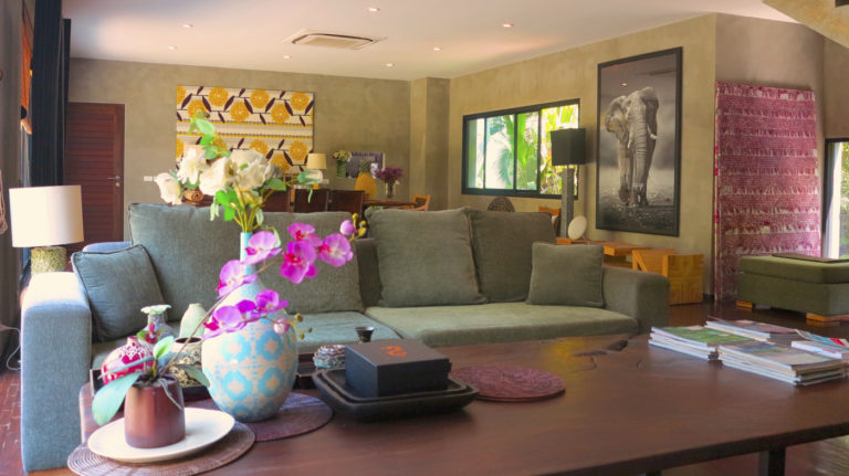 Chiang Mai Luxury Private Pool Villa | Listing Page | Living Room Slide Show Photo 4