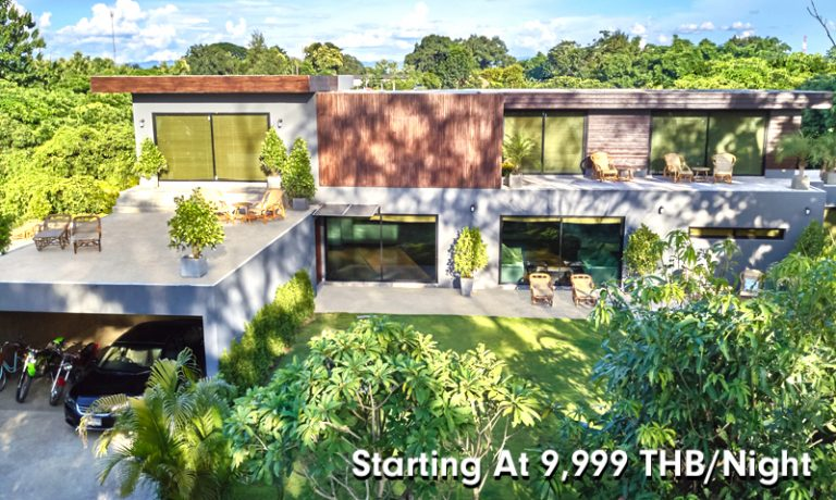Chiang Mai Luxury Private Pool Villa | Front of the Villa | Home Page | Price
