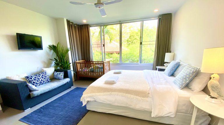 Front Samet Beach House | Slider | Bedroom 4